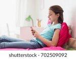 children  technology and... | Shutterstock . vector #702509092