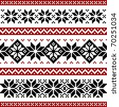 nordic pattern | Shutterstock .eps vector #70251034