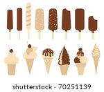 ice cream pack. set of 14...