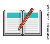 book education symbol | Shutterstock .eps vector #702537226