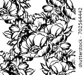 abstract elegance seamless... | Shutterstock .eps vector #702564442