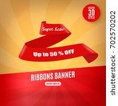 sale banner template design   Shutterstock .eps vector #702570202