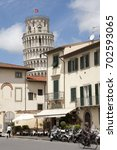 pisa  italy   may 31  2013  the ... | Shutterstock . vector #702593065