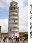 pisa  italy   may 31  2013  the ... | Shutterstock . vector #702593068