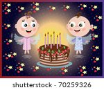 birthday  background | Shutterstock .eps vector #70259326