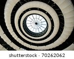 abstract round ceiling with... | Shutterstock . vector #70262062
