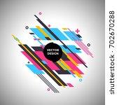 vector background with... | Shutterstock .eps vector #702670288