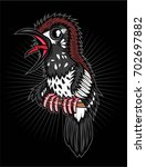 punglor kembang bird | Shutterstock .eps vector #702697882