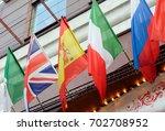 national flags of italy  great... | Shutterstock . vector #702708952