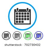 calendar appointment rounded... | Shutterstock .eps vector #702730432
