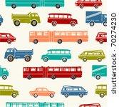 car seamless background | Shutterstock .eps vector #70274230