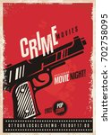 Crime Movies Poster Design...