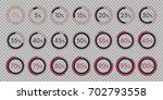 set digital collection of... | Shutterstock .eps vector #702793558
