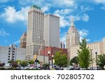 view of the city tulsa | Shutterstock . vector #702805702