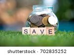 Words Of Saving Money Concepts...