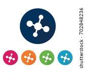 network icon. | Shutterstock .eps vector #702848236