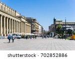 stuttgart  germany   april 12 ... | Shutterstock . vector #702852886
