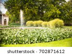 water fountain spring in the... | Shutterstock . vector #702871612