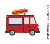 fast food icon image | Shutterstock .eps vector #702879778