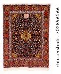 caucasian carpet in azerbaijan | Shutterstock . vector #702896566