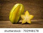 Star Apple. On Old Wood.
