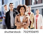 business  education and... | Shutterstock . vector #702950695