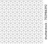 hexagonal trendy hipster... | Shutterstock .eps vector #702986392