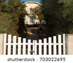 Barrier Access In Garden To...