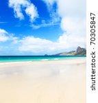 Beautiful White Sand Beach....