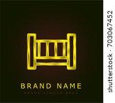 crib golden metallic logo