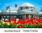 charlottesville  virginia  ... | Shutterstock . vector #703072456