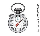 stopwatch vector illustration | Shutterstock .eps vector #703075645