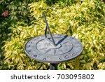 Sundial In Bush