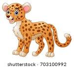 vector illustration of cute... | Shutterstock .eps vector #703100992