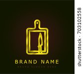 board golden metallic logo