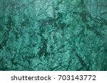 beautiful green marble luxury... | Shutterstock . vector #703143772