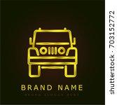 jeep golden metallic logo