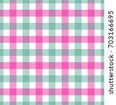 seamless pink and green colored ... | Shutterstock .eps vector #703166695