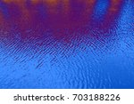 wide large blue wave aqua view  ... | Shutterstock . vector #703188226