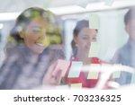 business  startup  planning ... | Shutterstock . vector #703236325