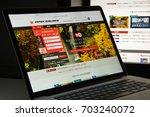 milan  italy   august 10  2017  ... | Shutterstock . vector #703240072