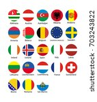 vector illustration set of... | Shutterstock .eps vector #703243822