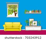 illustration of a colorful... | Shutterstock .eps vector #703243912