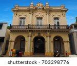 san carlos in key west miami... | Shutterstock . vector #703298776