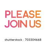 the gradient orange to pink... | Shutterstock .eps vector #703304668