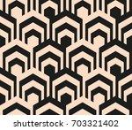 seamless geometric background.... | Shutterstock .eps vector #703321402