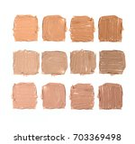 three rows of four samples of... | Shutterstock . vector #703369498