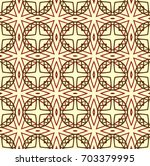 pattern with crosses and shapes