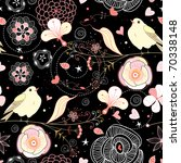 seamless floral pattern with... | Shutterstock .eps vector #70338148