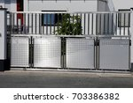 electrical sliding gate  ... | Shutterstock . vector #703386382